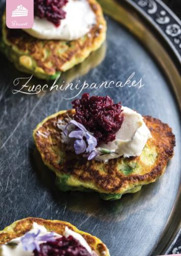 Rezept - Zucchinipancakes - Simply Kreativ Extra – Leckere Ideen für den Thermomix® 01/2020