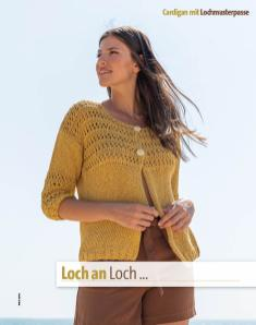 Strickanleitung - Loch an Loch … - Fantastische Frühlings-Strickideen 02/2020