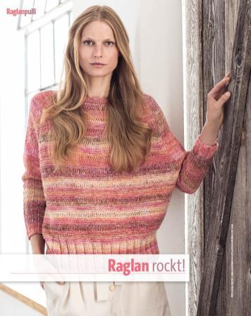 Strickanleitung - Raglan rockt! - Fantastische Frühlings-Strickideen 02/2020