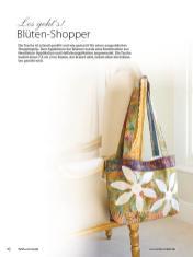 Blüten Shopper - Patchwork-Guide Teil 2 02/2020