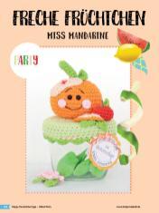 Häkelanleitung - Miss Mandarine - Simply Häkeln Sonderheft Deckelüberzüge Teil 2