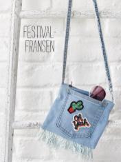 Nähanleitung - Festival-Fransen - Simply Nähen Sonderheft Upcycling 01/2020