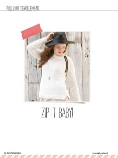 Nähanleitung - Zip it Baby - Simply Nähen Sonderheft Upcycling 01/2020