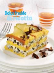 Rezept - Dolce freddo di ricotta - Simply Kochen Italienische Küche