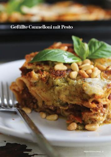 Rezept - Gefüllte Cannelloni mit Pesto - Vegan Food & Living – 03/2020