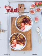 Rezept - Hafermüsli mit Joghurt, Erdbeeren, Feigen und Granatapfel - Simply Kochen Diät-Rezepte für gesunde Ernährung