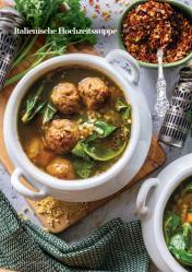 Rezept - Italienische Hochzeitssuppe - Vegan Food & Living – 03/2020