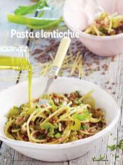 Rezept - Pasta e lenticchie - Simply Kochen Italienische Küche