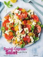 Rezept - Ravioli-Caprese-Salat mit Salmoriglio - Simply Kochen Diät-Rezepte für gesunde Ernährung