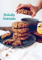 Rezept - Reichhaltige Frühstückskekse - Vegan Food & Living – 03/2020