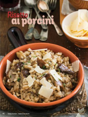 Rezept - Risotto ai porcini - Simply Kochen Italienische Küche