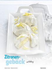 Rezept - Zitronengebäck mit Füllung - Simply Kochen Italienische Küche