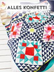 Nähanleitung - Alles Konfetti - Simply Kreativ Best of Patchwork + Quilting 01/2020