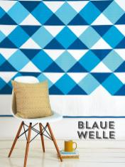 Nähanleitung - Blaue Welle - Simply Kreativ Best of Patchwork + Quilting 01/2020