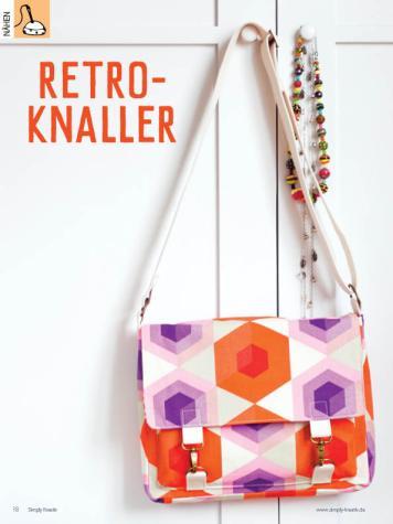 Nähanleitung - Retro-Knaller - Simply Kreativ Heft 02/2020