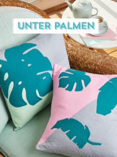 Nähanleitung - Unter Palmen - Simply Kreativ Best of Patchwork + Quilting 01/2020