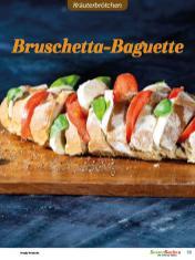 Rezept - Bruschetta-Baguette - Brötchen Backen mit Tommy Weinz Teil 2 – 03/2020