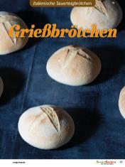 Rezept - Grießbrötchen - Brötchen Backen mit Tommy Weinz Teil 2 – 03/2020