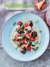 Rezept - Hackbällchen mit Knoblauchcreme und eingelegten Radieschen - Simply Kochen mit Vorräten 02/2020
