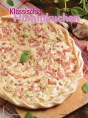 Rezept - Klassischer Flammkuchen - Simply Kochen mit Vorräten 02/2020