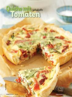 Rezept - Quiche mit getrockneten Tomaten - Simply Kochen mit Vorräten 02/2020