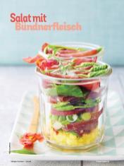 Rezept - Salat mit Bündnerfleisch - Simply Kochen mit Vorräten 02/2020