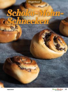 Rezept - Schoko-Mohn-Schnecken - Brötchen Backen mit Tommy Weinz Teil 2 – 03/2020