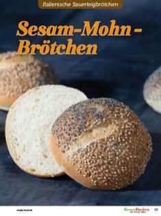 Rezept - Sesam-Mohn-Brötchen - Brötchen Backen mit Tommy Weinz Teil 2 – 03/2020