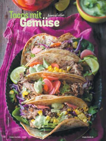Rezept - Tacos mit fermentiertem Gemüse - Simply Kochen mit Vorräten 02/2020
