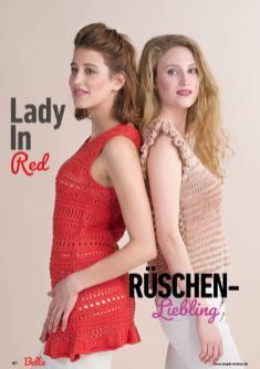Strickanleitung - Lady in Red und Rüschen-Liebling - Bella – Einfach Stricken 03/2020
