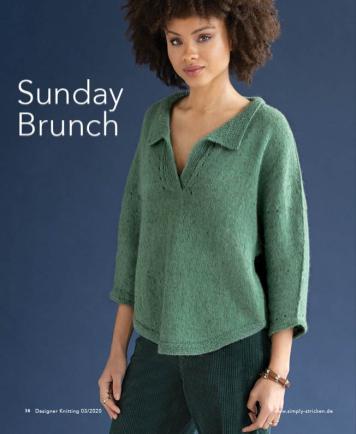 Strickanleitung - Sunday Brunch - Designer Knitting 03/2020