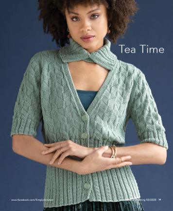 Strickanleitung - Tea Time - Designer Knitting 03/2020