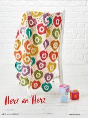 Häkelanleitung - Herz an Herz - Best of Simply Häkeln – Die schönsten Decken 02/2020