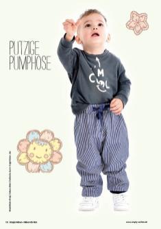Nähanleitung - Putzige Pumphose - Simply Nähen – Nähen für Kids 01/2020