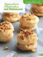 Rezept - Camenbert-Pastetchen mit Walnüssen - Simply Backen Blätterteig – 02/2020