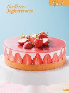 Rezept - Erdbeer-Joghurttorte - Simply Backen Sonderheft Erdbeeren – 01/2020