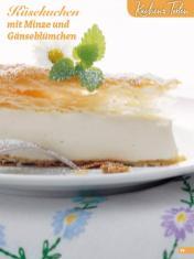 Rezept - Käsekuchen mit Minze und Gaenseblümchen - Simply Backen Blätterteig – 02/2020