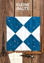 Nähanleitung - Kleine Raute - Simply Kreativ Patchwork kompakt 01/2020