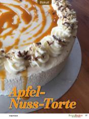 Rezept - Apfel-Nuss-Torte - Besser Backen mit Tommy Weinz Vol. 2 – 04/2020