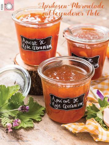 Rezept - Aprikosen-Marmelade mit besonderer Note - Simply Kreativ Heft 03/2020