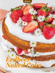 Rezept - Erdbeer Naked Cake - Besser Backen mit Tommy Weinz Vol. 2 – 04/2020
