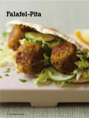 Rezept - Falafel-Pita - Vegan Food & Living – 04/2020