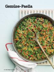 Rezept - Gemüse-Paella - Vegan Food & Living – 04/2020