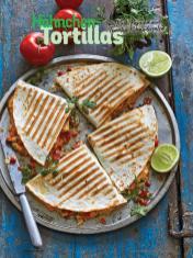 Rezept - Hähnchen-Tortillas mit Käse, Paprika und Tomaten-Koriandersalsa - Simply Kochen Sonderheft Sommerrezepte 01/2020