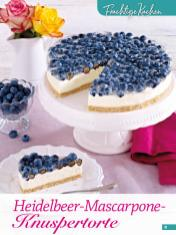 Rezept - Heidelbeer-Mascarpone-Knuspertorte - Simply Backen Sonderheft Sommertorten – 01/2020