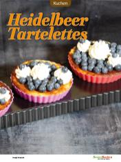 Rezept - Heidelbeer-Tartelettes - Low Carb Backen mit Tommy Weinz – 01/2020