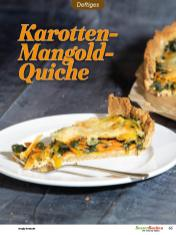 Rezept - Karotten-Mangold-Quiche - Low Carb Backen mit Tommy Weinz – 01/2020