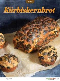 Rezept - Kürbiskernbrot - Low Carb Backen mit Tommy Weinz – 01/2020