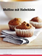 Rezept - Muffins mit Haferkleie - Vegan Food & Living – 04/2020