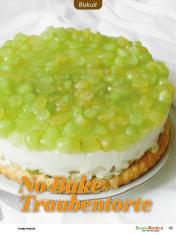 Rezept - No Bake Traubentorte - Besser Backen mit Tommy Weinz Vol. 2 – 04/2020
